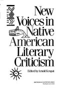 New Voices in Native American Literary Criticism Book PDF