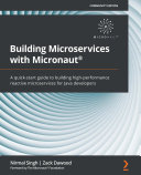 Building Microservices with Micronaut