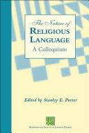 Pdf Nature of Religious Language Telecharger