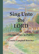 Sing Unto the Lord Book