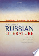 A History of Russian Literature Book