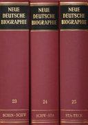 Neue deutsche Biographie
