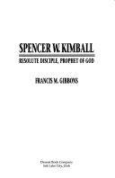 Spencer W Kimball