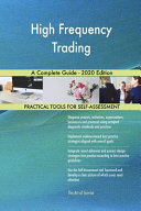 High Frequency Trading A Complete Guide   2020 Edition