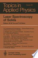 Laser Spectroscopy of Solids