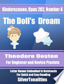 The Doll's Dream Opus 202 Number 4 Easy Piano Sheet Music
