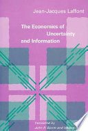 Economie de L'incertain Et de L'information