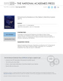 Enhancing the Resilience of the Nation's Electricity System Pdf/ePub eBook
