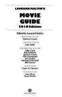 Leonard Maltin's Movie Guide Pdf/ePub eBook