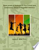 Three Levels of Strategies in Your School and Classrooms  Universal Targeted Intensive Book