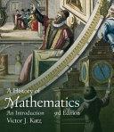 A History of Mathematics (Classic Version)