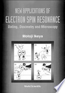 New Applications of Electron Spin Resonance