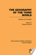The Geography of the Third World