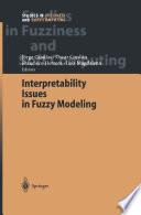 Interpretability Issues in Fuzzy Modeling
