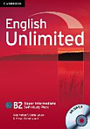 English Unlimited B2 - Upper-Intermediate. Self-study Pack with DVD-ROM