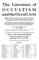 The Literature of Occultism and the Occult Arts