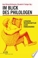 Im Blick des Philologen
