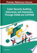 Cyber Security Auditing  Assurance  and Awareness Through CSAM and CATRAM Book