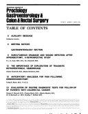 American Journal of Proctology  Gastroenterology   Colon   Rectal Surgery