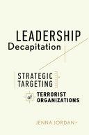 Pdf Leadership Decapitation