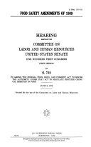 Food Safety Amendments of 1989