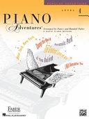 Piano Adventures   Level 4 Book PDF