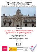 Derecho administrativo e integración europea