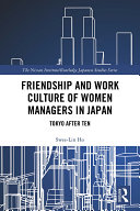 Friendship and Work Culture of Women Managers in Japan Pdf/ePub eBook