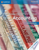 Cambridge IGCSE® and O Level Accounting Workbook