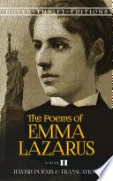 Emma Lazarus Books, Emma Lazarus poetry book