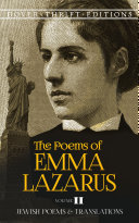 The Poems of Emma Lazarus  Volume II