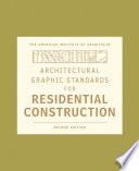 Architectural Graphic Standards For Residential Construction Book