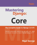 Mastering Django: Core Pdf/ePub eBook