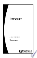 Pressure   a Play in One Act Book