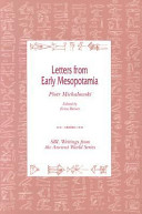 Letters from Early Mesopotamia