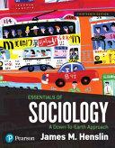 Essentials of Sociology Book