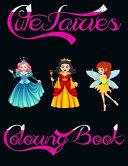 Cute Fairies Coloring Book