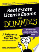 Real Estate License Exams For Dummies Book