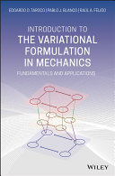 Introduction to the Variational Formulation in Mechanics