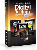 Scott Kelby's Digital Photography Books, Volumes 1, 2, and 3