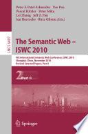 The Semantic Web Iswc 2010 Book PDF