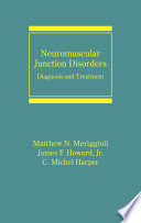 Neuromuscular Junction Disorders Book PDF