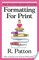 Formatting for Print Book