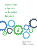 Practical Finance for Operations and Supply Chain Management Pdf/ePub eBook
