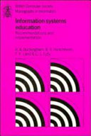 Information Systems Education
