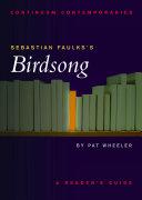 Pdf Sebastian Faulks's Birdsong Telecharger