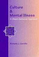 Culture   Mental Illness Book