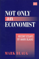 Not Only an Economist Book PDF