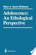 Adolescence  An Ethological Perspective