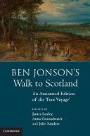 Ben Jonson s Walk to Scotland